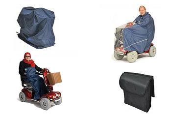 Regenkleding en bescherming voor rolstoel en scootmobiel