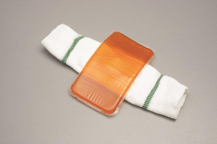 Elleboog-hiel beschermer gel - max omtrek 23 cm
