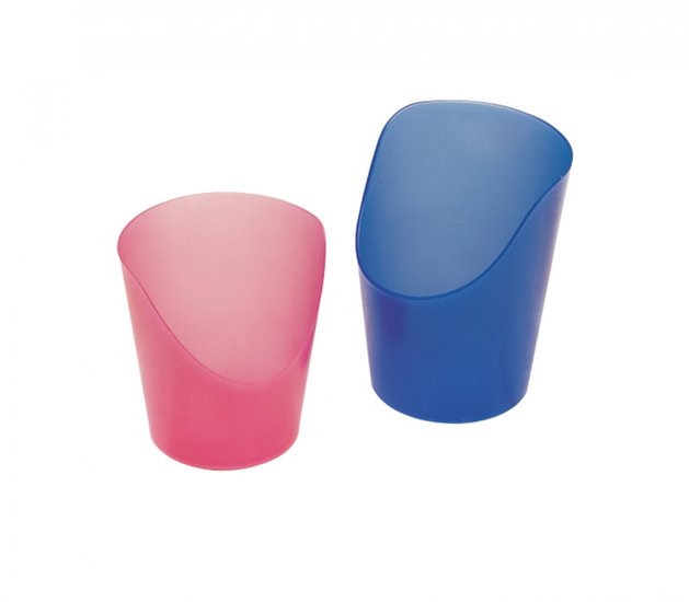 Flexibele Medicijnbeker - blauw 59 ml
