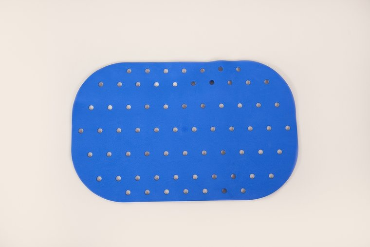 Anti-slip bad- en douchematten - badmat klein blauw - Atlantis