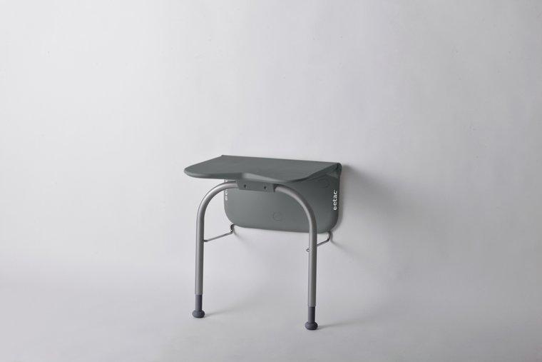 Relax douchezitting - met steunpoten-volcan grey - Etac