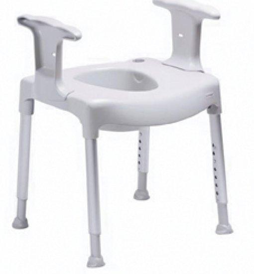 Swift vrijstaande toiletverhoger - Etac