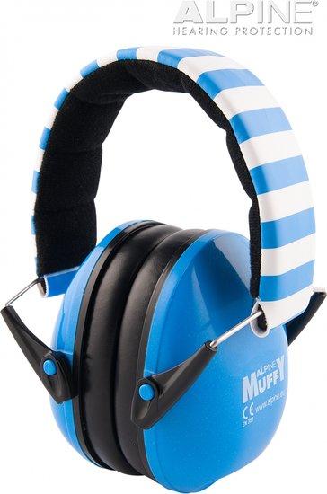 Muffy oorkappen - blauw - Alpine