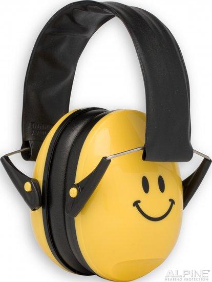 Muffy oorkappen - smile-geel - Alpine