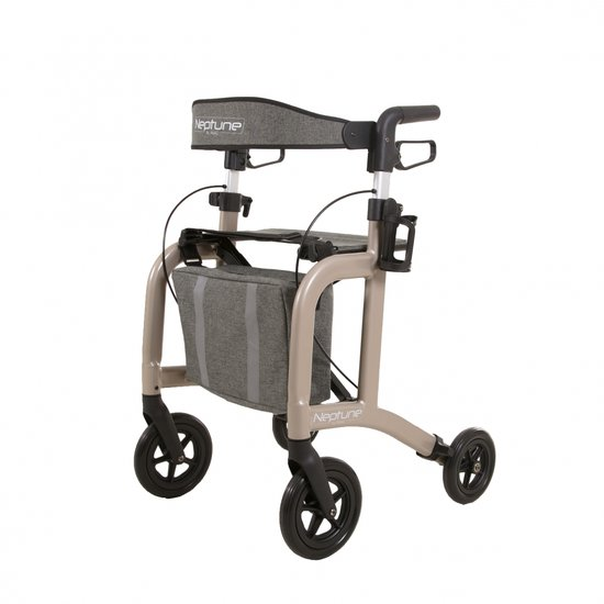 Neptune rollator - champagne - Able2