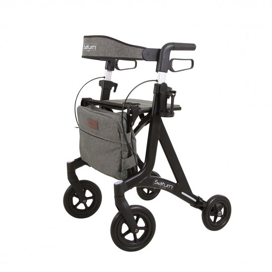 Saturn rollator - mat-zwart - Able2