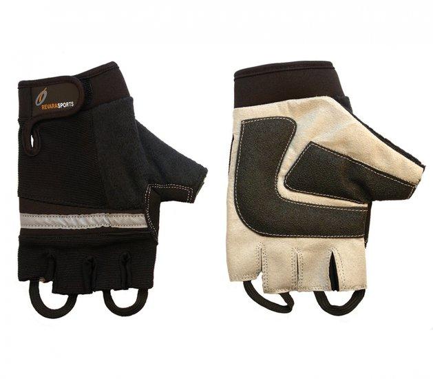 Rolstoelhandschoenen Zwart - S - RevaraSports