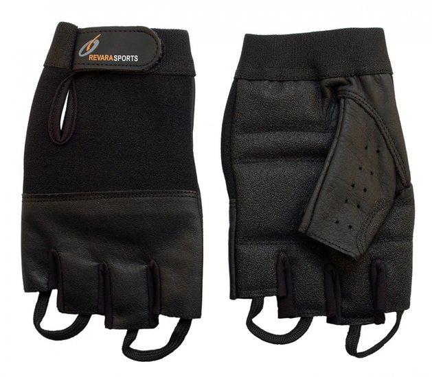 Lederen zomer handschoenen - XS - RevaraSports