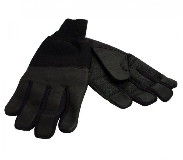Lederen winter handschoenen - L - RevaraSports