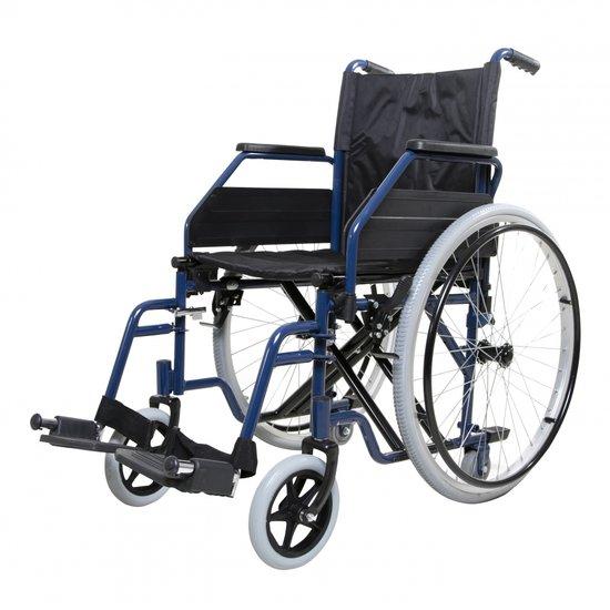 Opvouwbare rolstoel - Blauw - Able2
