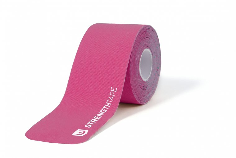 Rol 5 mtr - roze - StrengthTape