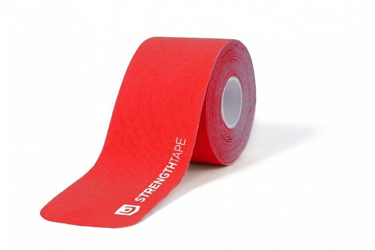 Rol 5 mtr - rood - StrengthTape