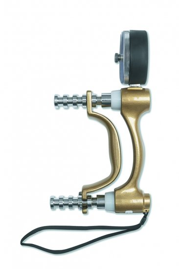 Hydraulic hand dynamometer