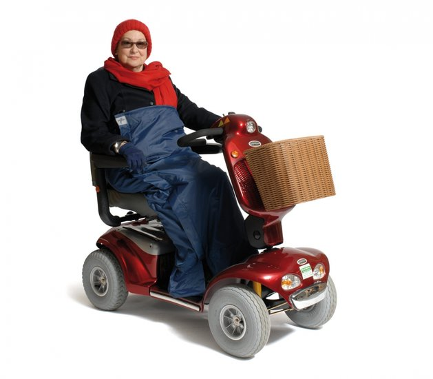 Deluxe Scooter Cosy - M borstomvang 111 lengte 119 cm