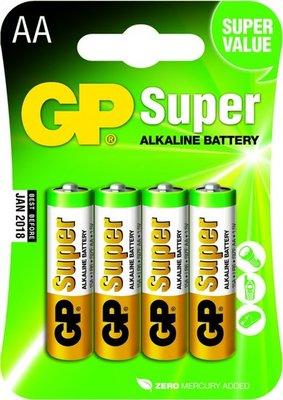 AA batterijen - 4 stuks - GP
