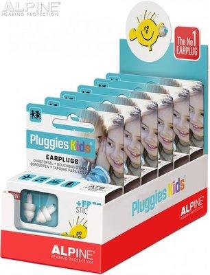 Pluggies Kids display - 6 stuks - Alpine