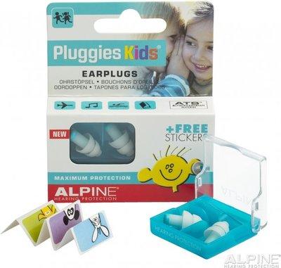 Pluggies Kids oordopjes - 1 paar - Alpine