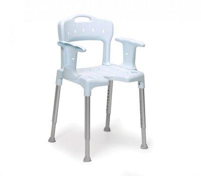 Swift douchestoel - blauw - Etac