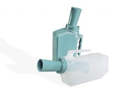 Urinaal met terugloop beveiliging - man-transparant