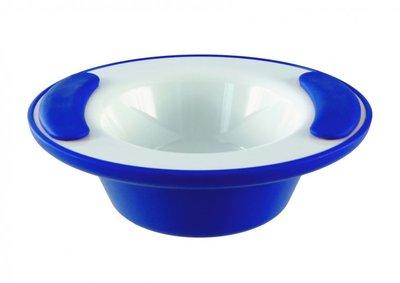 Warmhoudkom - wit blauw - Ornamin