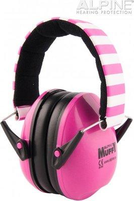 Muffy oorkappen - roze - Alpine