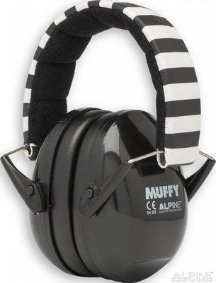 Muffy oorkappen - zwart - Alpine