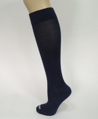 Compressiesokken - blauw-maat 36-42 - Ecosox
