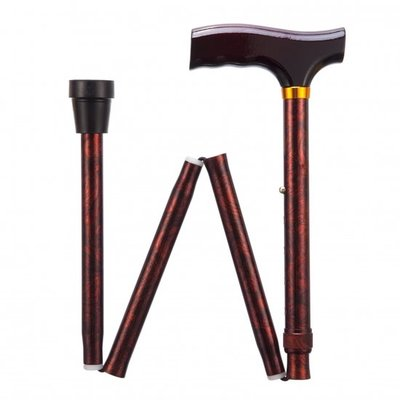 Opvouwbare wandelstok - klassiek 84 - 94 cm