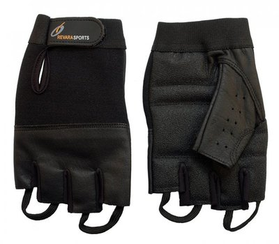 Lederen zomer handschoenen - L - RevaraSports
