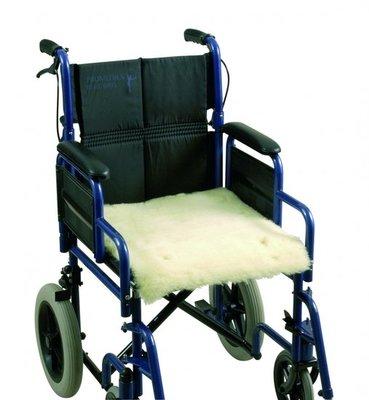 Schapenvacht voor rolstoel - zitting