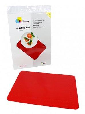 Anti-slip matten rechthoekig - L 45 x B 38 cm rood - Able2
