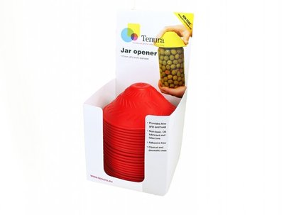 Anti-slip potopener - potopener geel display 25 st - Able2