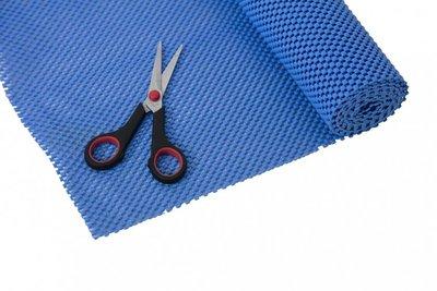 Anti-slip net rol - 51 x 183 cm - lichtblauw - StayPut