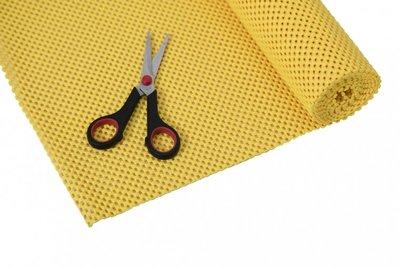 Anti-slip net rol - 51 x 183 cm - geel - StayPut