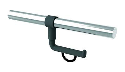 Toiletrolhouder voor Inox muursteun - Normbau