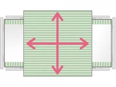 SatinSheet 4D Treklaken - Midi 4D - Immedia