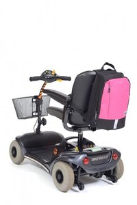 Rugzak Mobility klein - zwart-roze