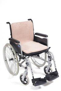 Mobility fleece zitting-rug