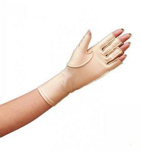 Oedeemhandschoen halve vingers over de pols - Links L - Norco