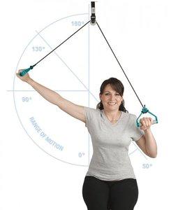 Armtrainer deurmontage touw - versterken bovenlichaamspieren