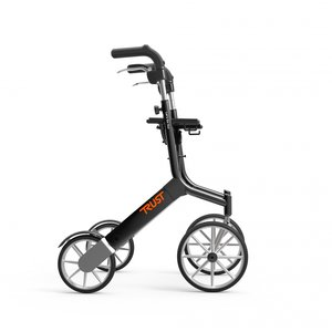 Let's Go Out rollator - Zwart - Trustcare